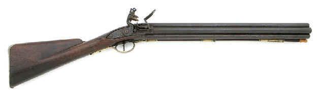 The Nock gun a seven-barreled smoothbore flintlock Nockgu1